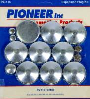 Engine Components - Pioneer Automotive Products - Pioneer 350 Pontiac Freeze Plug Kit