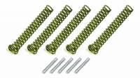 Wet Sump Parts & Accessories - Oil Pump Pressure Relief Springs - Melling Engine Parts - Melling Oil Pressure Springs #58 Yellow (5pk)