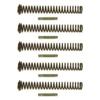Wet Sump Parts & Accessories - Oil Pump Pressure Relief Springs - Melling Engine Parts - Melling SBC Oil Pressure Springs 70 PSI (5pk)