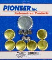 Engine Components - Pioneer Automotive Products - Pioneer 400 Ford Freeze Plug Kit - Brass