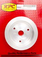 Engine Components - Racing Power - Racing Power Co-Packaged BBC SWP 2 Groove Lower Pulley Satin