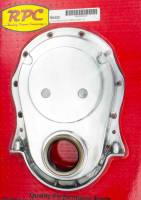 Engine Components - Racing Power - Racing Power Co-Packaged BBC Alum Timing Chain Cover Polished