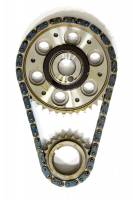 Engine Components - Rollmaster - Rollmaster-Romac SBF EFI Billet Roller Adj. Timing Set w/Torr.