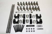 Rocker Arms - Shaft Mount Rocker Arms - BB Ford / FE - PRW Industries - Prw Industries Shaft Mount R/A System - Ford FE S/S 1.75 Ratio