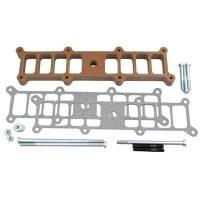 Intake Manifolds - Intake Manifolds - Ford 4.6L Modular V8 - Trick Flow - Trick Flow Heat Spacer Kit SBF Intake Edelbrock RPM II