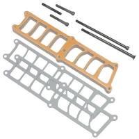 Intake Manifolds - Intake Manifolds - Ford 4.6L Modular V8 - Trick Flow - Trick Flow Heat Spacer Kit Holley SBF EFI Manifold