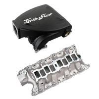 Intake Manifolds - Intake Manifolds - Ford 4.6L Modular V8 - Trick Flow - Trick Flow Intake Manifold Ford 5.0L Streetburner Black