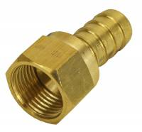 "Derale Performance - Derale -8AN Female x 1/2"" Barb Swivel Fitting"