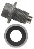 "Transmission Accessories - Transmission Drain Plugs - Derale Performance - Derale Magnetic Transmission Pan Drain Plug Kit, 1/2""-20"