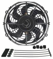 "Cooling & Heating - Derale Performance - Derale 10"" Dyno-Cool Curved Blade Electric Fan"