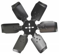 "Belt Driven Fans - Steel Fans - Derale Performance - Derale 18"" Standard Rotation Rigid Race Fan, Steel Blade"
