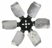 "Mechanical Cooling Fans - Aluminum Cooling Fans - Derale Performance - Derale 17"" Standard Rotation Rigid Race Fan, Aluminum Blade"
