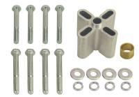 "Fans - Mechanical Fan Spacers - Derale Performance - Derale 2"" Universal Aluminum Belt Fan Spacer"