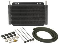 Oil Cooler - Oil Coolers - Derale Performance - Derale 13 Row Series 8000 Plate & Fin Transmission Cooler Kit