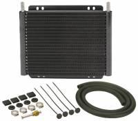 Oil Cooler - Oil Coolers - Derale Performance - Derale 19 Row Series 8000 Plate & Fin Transmission Cooler Kit