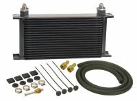 Oil Cooler - Oil Coolers - Derale Performance - Derale 19 Row Series 10000 Stack Plate Transmission Cooler Kit