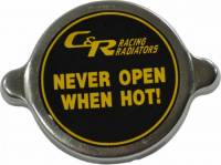 Sprint Car & Open Wheel - C&R Racing - C&R Racing Radiator Cap - Large - 31 lb.