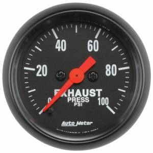 Gauges & Dash Panels - Gauges - Exhaust Pressure Gauges