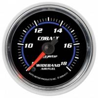 "Gauges - Digital Air / Fuel Ratio Gauges - Auto Meter - Auto Meter 2-1/16"" Cobalt Wideband Air/ Fuel Gauge - Analog"