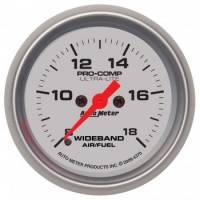 """Digital Gauges - Digital Air/Fuel Ratio Gauges - Auto Meter - Auto Meter 2-1/16"""" Ultra-Lite Wideband Air /Fuel Gauge - Analog"""