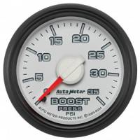 "Gauges - Pressure Gauges - Auto Meter - Auto Meter 2-1/16"" Boost Gauge - Dodge Factory Match"