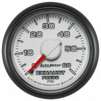 "Gauges - Exhaust Pressure Gauges - Auto Meter - Auto Meter 2-1/16"" Exhaust Pressure Gauge - 0-60 PSI - Dodge Match"