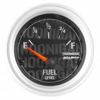 "Gauges - Fuel Level Gauges - Auto Meter - Auto Meter 2-1/16"" Fuel Level Gauge - Hoonigan Series"