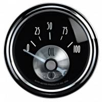 "Analog Gauges - Oil Pressure Gauges - Auto Meter - Auto Meter 2-1/16"" B/D Oil Pressure Gauge - 0-100 PSI"