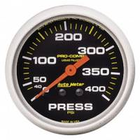 "Oil Pressure Gauges - Mechanical Oil Pressure Gauges - Auto Meter - Auto Meter 2-5/8"" Pro-Comp Pressure Gauge - 0-400 PSI"