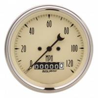 "Speedometers - Electric Speedometers - Auto Meter - Auto Meter 3-3/8"" Speedometer 120 MPH - Electric - Programmable"