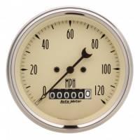 "Analog Gauges - Speedometers - Auto Meter - Auto Meter 3-3/8"" Speedometer 120 MPH - Electric - Programmable"