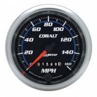"Analog Gauges - Speedometers - Auto Meter - Auto Meter 3-3/8"" Cobalt Speedometer - 160 MPH w/LED Light"