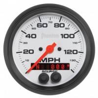 "Analog Gauges - Speedometers - Auto Meter - Auto Meter 3-3/8"" Phantom GPS Speedometer w/Rally Nav Display"