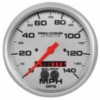 "Analog Gauges - Speedometers - Auto Meter - Auto Meter 5"" Ultra-Lite GPS Speedometer w/Rally Nav Display"