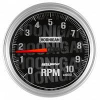 "Standard Tachometers - In-Dash Standard Tachs - Auto Meter - Auto Meter 5"" Tachometer 10K RPM Hoonigan Series"