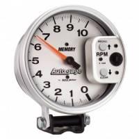"Standard Tachometers - In-Dash Standard Tachs - Auto Meter - Auto Meter 5"" Auto Gage Monster Tach Silver"