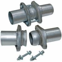 "Header Components and Accessories - Collector Reducers - Flowmaster - Flowmaster Header Collector Ball Flange Kit - 3.00"" to 3.00"""