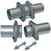 "Header Components and Accessories - Collector Reducers - Flowmaster - Flowmaster Header Collector Ball Flange Kit- 2.50"" to 2.50"" (Set of 2)"