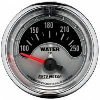 "Water Temp Gauges - Electric Water Temp Gauges - Auto Meter - Auto Meter American Muscle Water Temperature Gauge - 2-1/16"""