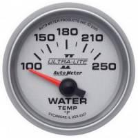 "Water Temp Gauges - Electric Water Temp Gauges - Auto Meter - Auto Meter 2-1/16"" Ultra-Lite II Electric Water Temperature Gauge - 100-250°"