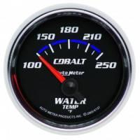 "Water Temp Gauges - Electric Water Temp Gauges - Auto Meter - Auto Meter Cobalt Electric Water Temperature Gauge - 2-1/16"""
