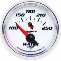 "Water Temp Gauges - Electric Water Temp Gauges - Auto Meter - Auto Meter C2 Electric Water Temperature Gauge - 2-1/16"""