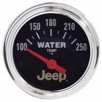 Water Temp Gauges - Electric Water Temp Gauges - Auto Meter - Auto Meter 2-1/16 Water Temp Gauge - Jeep Series