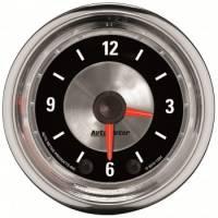 Gauges - Clocks - Auto Meter - Auto Meter 2-1/16 A/M Clock