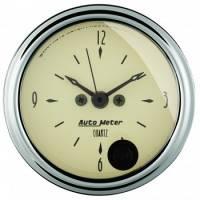 Gauges - Clocks - Auto Meter - Auto Meter Antique Beige Clock - 2-1/16 in.