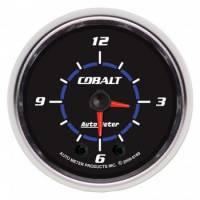 Gauges - Clocks - Auto Meter - Auto Meter Cobalt Clock - 2-1/16 in.