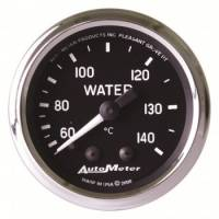 Water Temp Gauges - Mechanical Water Temp Gauges - Auto Meter - Auto Meter Cobra Mechanical Water Temperature Gauge - 2-1/16""