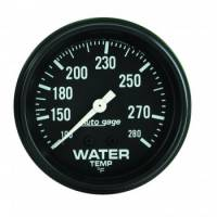 Water Temp Gauges - Mechanical Water Temp Gauges - Auto Meter - Auto Gage Water Temperature Gauge - 2-5/8""