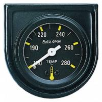 Analog Gauges - Water Temperature Gauges - Auto Meter - Auto Gage Mechanical Water Temperature Gauge - 1-1/2""