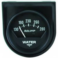 Water Temp Gauges - Mechanical Water Temp Gauges - Auto Meter - Auto Gage Mechanical Water Temperature Gauge - 2-1/16""